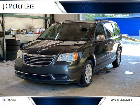 2012 Chrysler Town and Country for sale at JK Motor Cars in Pittsburgh PA