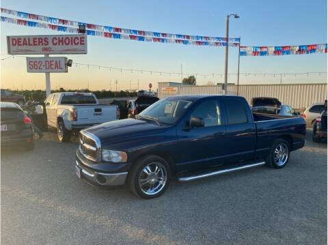 2005 Dodge Ram Pickup 1500 for sale at Dealers Choice Inc in Farmersville CA