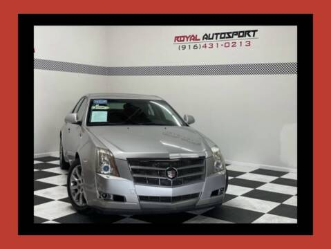 2008 Cadillac CTS for sale at Royal AutoSport in Sacramento CA