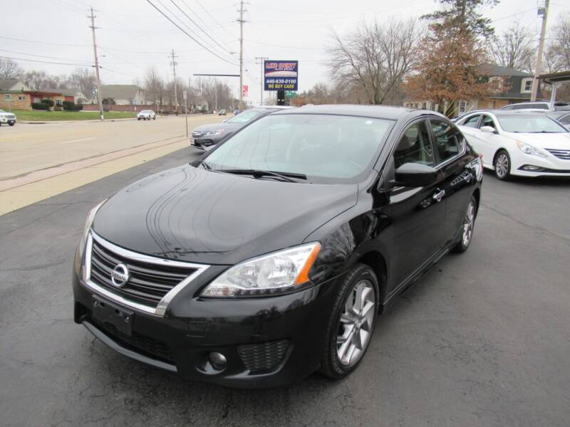 2013 Nissan Sentra for sale at Lake County Auto Sales in Painesville OH