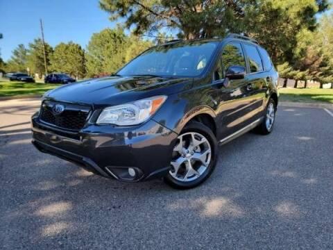 2015 Subaru Forester for sale at Summit Auto in Aurora CO