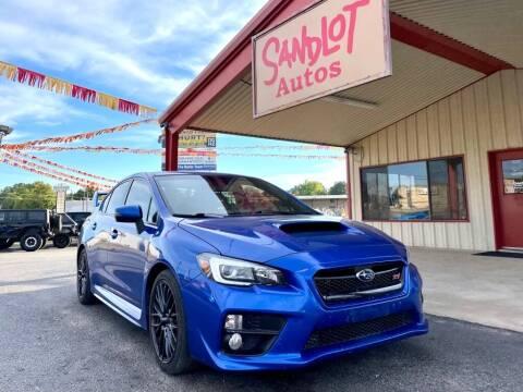 2015 Subaru WRX for sale at Sandlot Autos in Tyler TX