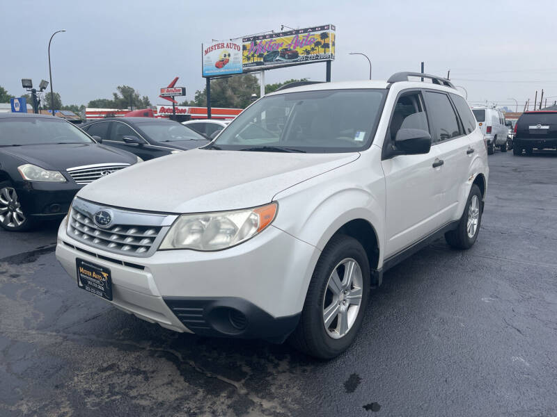 2013 Subaru Forester for sale at Mister Auto in Lakewood CO