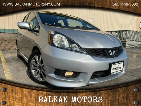 2013 Honda Fit for sale at BALKAN MOTORS in East Rochester NY
