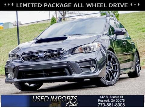 2018 Subaru WRX for sale at Used Imports Auto in Roswell GA