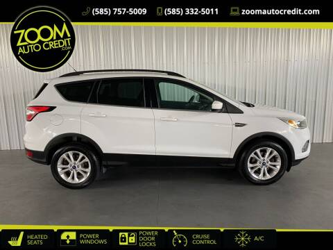 2018 Ford Escape for sale at ZoomAutoCredit.com in Elba NY