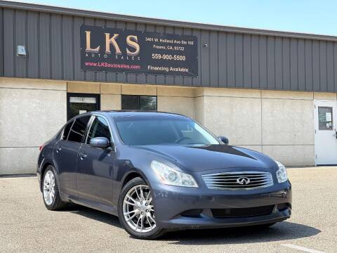 2008 Infiniti G35 for sale at LKS Auto Sales in Fresno CA