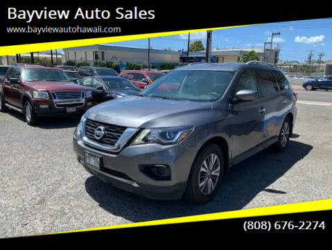 2018 Nissan Pathfinder for sale at Bayview Auto Sales in Waipahu HI
