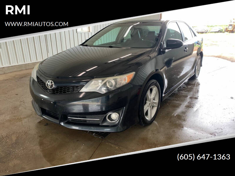 2013 Toyota Camry for sale at RMI in Chancellor SD