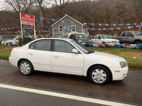 2004 Hyundai Elantra for sale at Korz Auto Farm in Kansas City KS