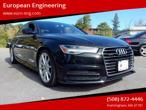 2017 Audi A6 for sale at European Engineering in Framingham MA
