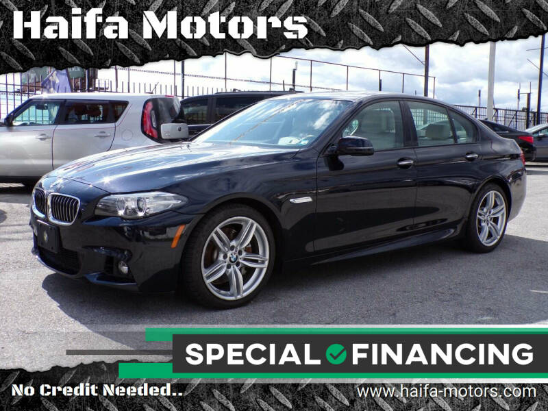 2014 BMW 5 Series for sale at Haifa Motors in Philadelphia PA