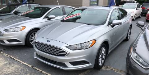 2017 Ford Fusion Hybrid for sale at Car Guys in Lenoir NC