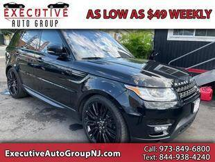 2016 Land Rover Range Rover Sport for sale at Executive Auto Group in Irvington NJ