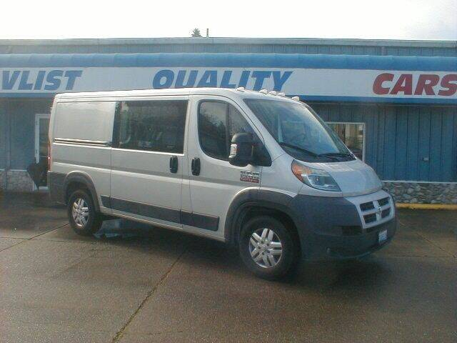2014 RAM ProMaster Cargo for sale at Dick Vlist Motors, Inc. in Port Orchard WA