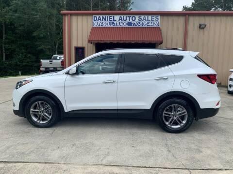 2017 Hyundai Santa Fe Sport for sale at Daniel Used Auto Sales in Dallas GA