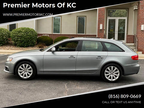 2009 Audi A4 for sale at Premier Motors of KC in Kansas City MO