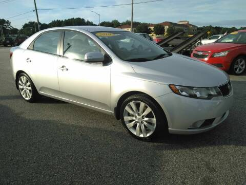 2010 Kia Forte for sale at Kelly & Kelly Supermarket of Cars in Fayetteville NC