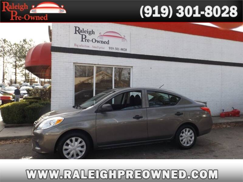 2014 Nissan Versa for sale at Raleigh Pre-Owned in Raleigh NC