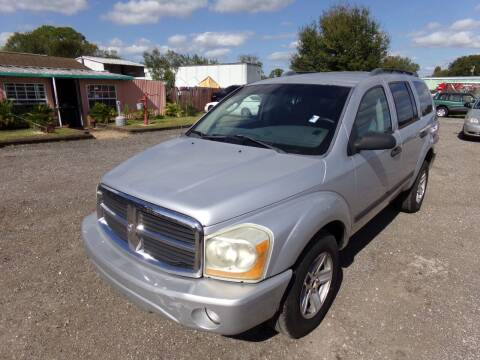 2006 Dodge Durango for sale at M & M AUTO BROKERS INC in Okeechobee FL