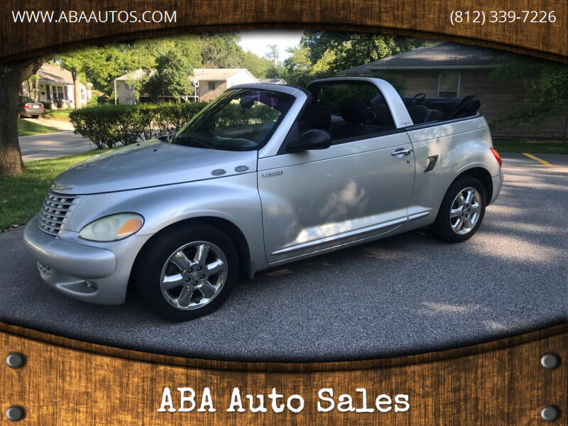 2005 Chrysler PT Cruiser for sale at ABA Auto Sales in Bloomington IN