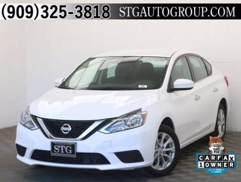 2019 Nissan Sentra for sale at STG Auto Group in Montclair CA