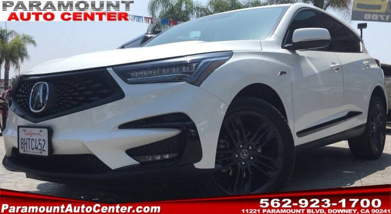 2019 Acura RDX for sale at PARAMOUNT AUTO CENTER in Downey CA