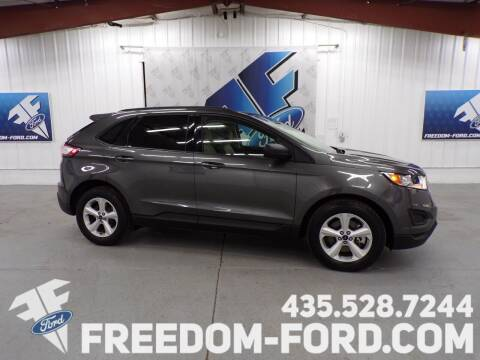 2017 Ford Edge for sale at Freedom Ford Inc in Gunnison UT
