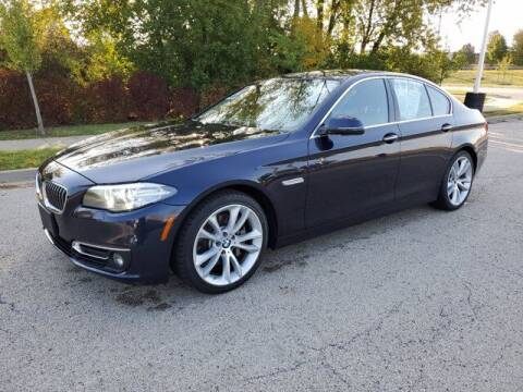 2014 BMW 5 Series for sale at BMW OF ORLAND PARK in Orland Park IL