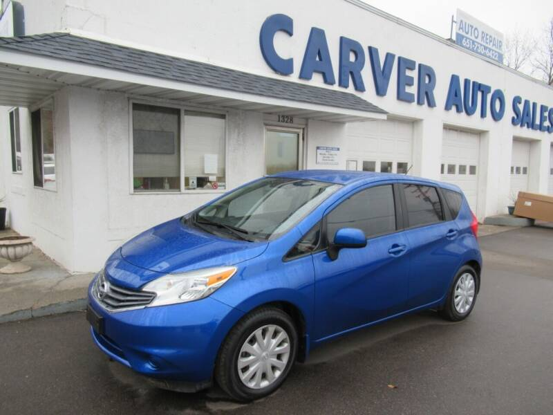 2014 Nissan Versa Note for sale at Carver Auto Sales in Saint Paul MN