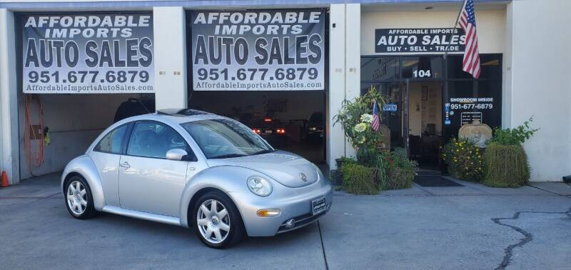 2002 Volkswagen New Beetle for sale at Affordable Imports Auto Sales in Murrieta CA