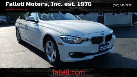 2013 BMW 3 Series for sale at Falleti Motors, Inc.  est. 1976 in Batavia NY