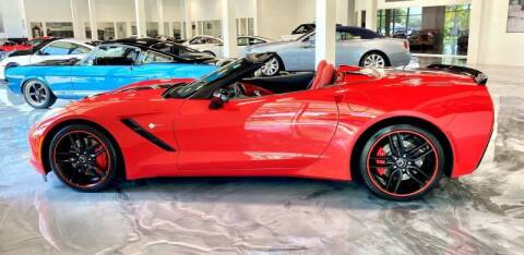 2014 Chevrolet Corvette for sale at Suncoast Sports Cars and Exotics in West Palm Beach FL