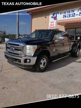 2011 Ford F-350 Super Duty for sale at TEXAS AUTOMOBILE in Houston TX