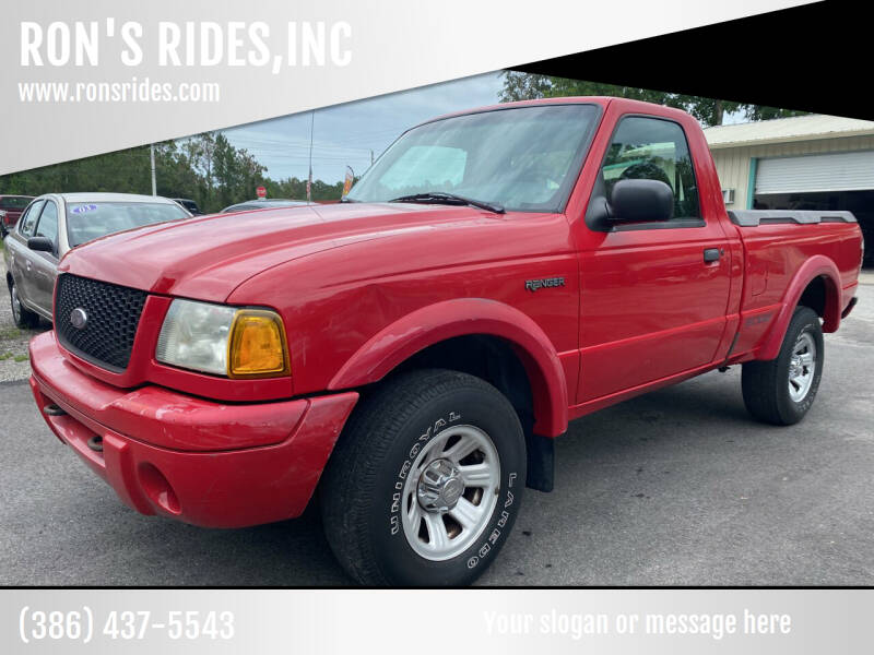 2001 Ford Ranger for sale in Bunnell, FL