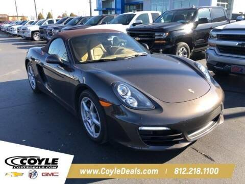 2013 Porsche Boxster for sale at COYLE GM - COYLE NISSAN - New Inventory in Clarksville IN