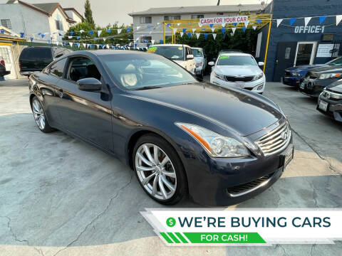 2008 Infiniti G37 for sale at FJ Auto Sales North Hollywood in North Hollywood CA
