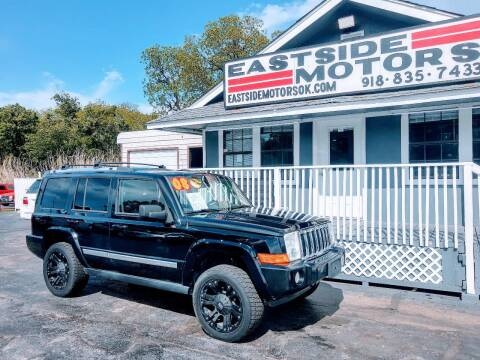 2008 Jeep Commander for sale at EASTSIDE MOTORS in Tulsa OK