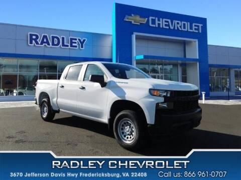 2021 Chevrolet Silverado 1500 for sale at Radley Cadillac in Fredericksburg VA