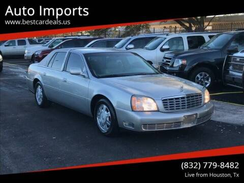 2005 Cadillac DeVille for sale at Auto Imports in Houston TX