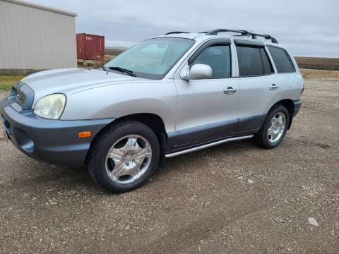 2004 Hyundai Santa Fe for sale at BROTHERS AUTO SALES in Eagle Grove IA