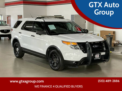 2014 Ford Explorer for sale at GTX Auto Group in West Chester OH