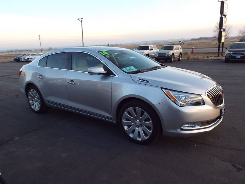 2014 Buick LaCrosse for sale at G & K Supreme in Canton SD