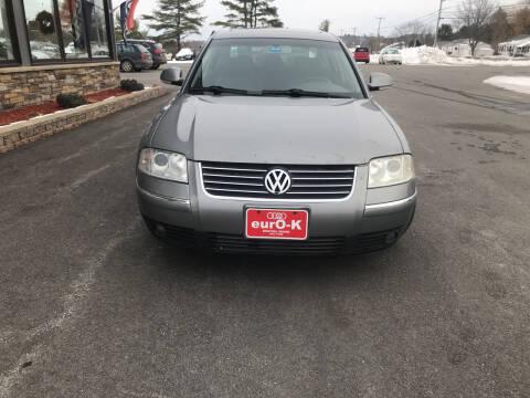 2004 Volkswagen Passat for sale at eurO-K in Benton ME