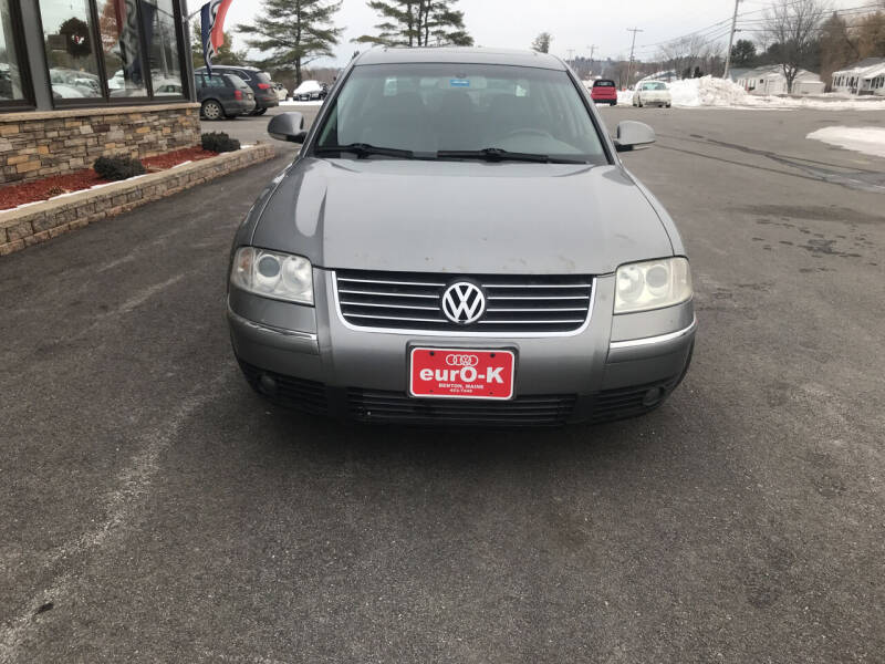 2004 Volkswagen Passat for sale at eurO-K in Benton ME