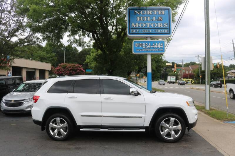 2013 Jeep Grand Cherokee for sale at North Hills Motors in Raleigh NC