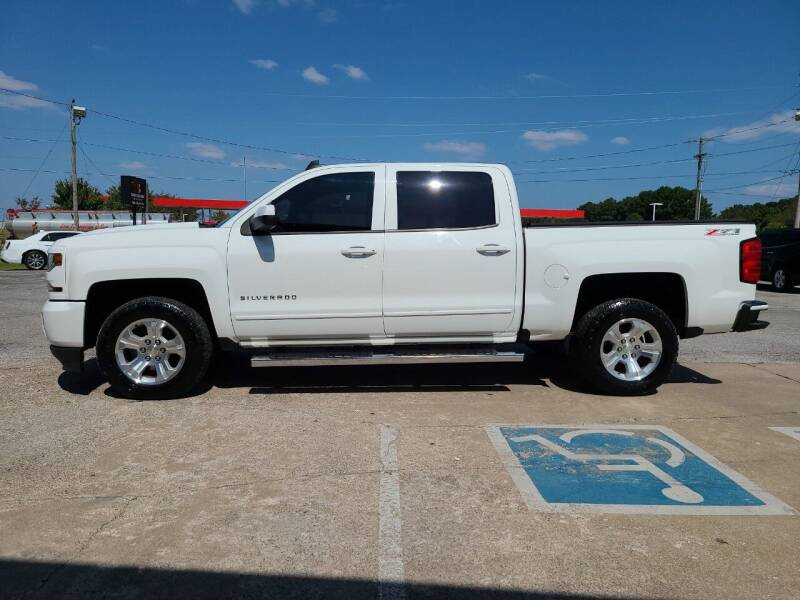2016 Chevrolet Silverado 1500 for sale at Smooth Solutions 2 LLC in Springdale AR