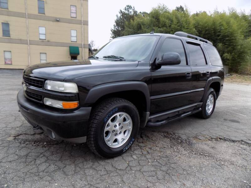 2004 Chevrolet Tahoe for sale at S.S. Motors LLC in Dallas GA