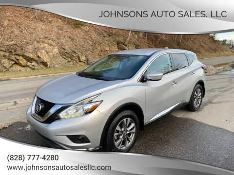 2015 Nissan Murano for sale at Johnsons Auto Sales, LLC in Marshall NC