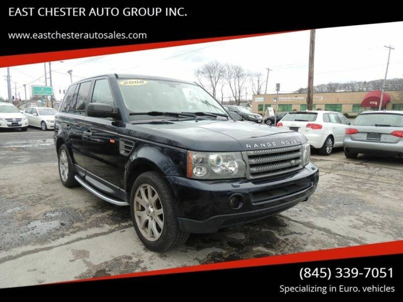 2008 Land Rover Range Rover Sport for sale at EAST CHESTER AUTO GROUP INC. in Kingston NY